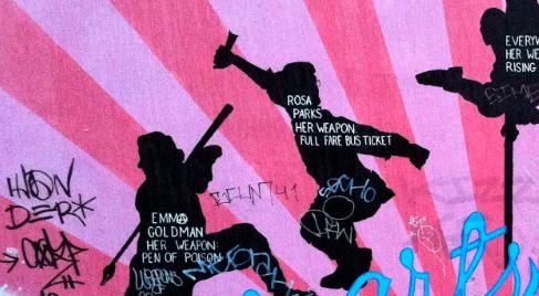 Graf de Clarion Alley, San Francisco, CA (photo PL Boulanger)