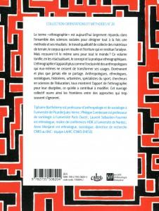 Ethnographies Plurielles Disciplines Quatrième couv