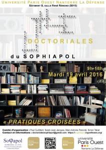 Affiche doctoriales 2016